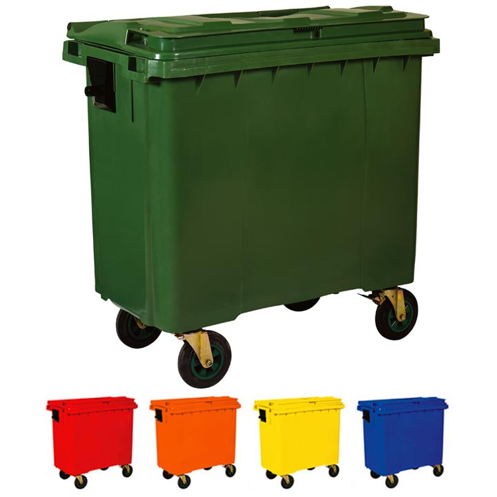 Waste Container 660 Lt.